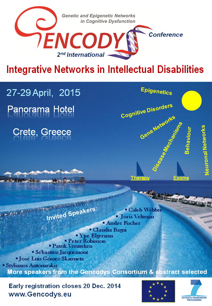 Upcoming Gencodys Conference 2015